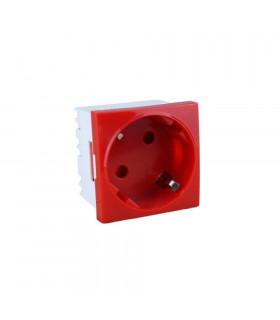 Shucko de 45x45mm con proteccion rojo