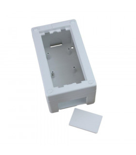 Caja superficie 1 elemento 76x132mm