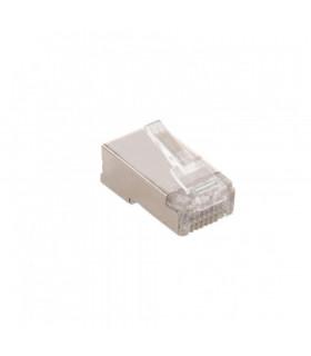 Conector macho rj45 keynet ftp cat 6/6a