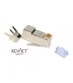 Conector macho rj45 keynet ftp cat-6 a guia 1 4