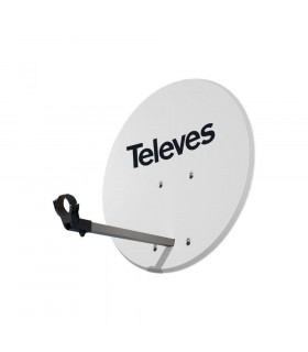 Antena parabólica televes 793012 aluminio 63cm