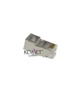 Conector macho rj45 keynet ftp cat-5e