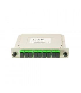 Spliter con casete opton 1 in 8 out sc/apc