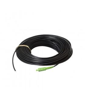 Cable 1f acometida av int/ext 40m sc/apc negro