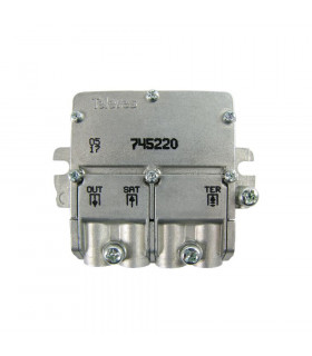 Mini mezclador matv-fi televes 745220 2e/1s