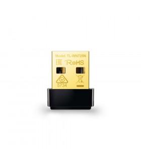 ADAPTADOR INALÁMBRICO TP-LINK USB NANO N 125 Mbps