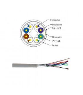 Cable powergreen ftp cat-5e lszh 305 m blanco
