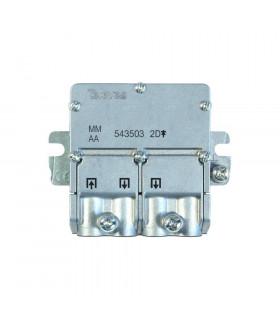Mini repartidor easy f 2d televes 543503 4db