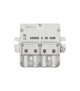 Mini derivador easy f 2d televes 542603 16db