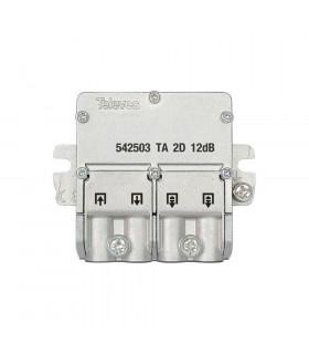 Mini derivador easy f 2d televes 542503 12db