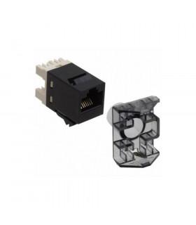 Conector hembra rj45 bitel utp cat-6 180º inserc