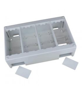 Caja de superficie 4 elementos 225x140mm