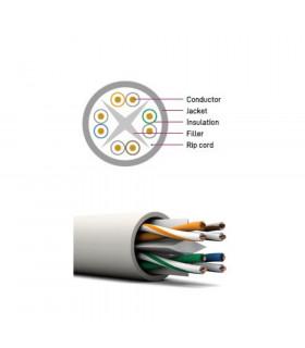 Cable bitel utp cat-5e  ext 100cu 305 m blanco