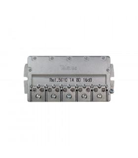 Derivador easy f 8d televes 5610 16db