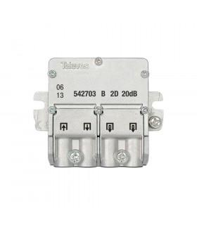 Mini derivador easy f 2d televes 542703 21db