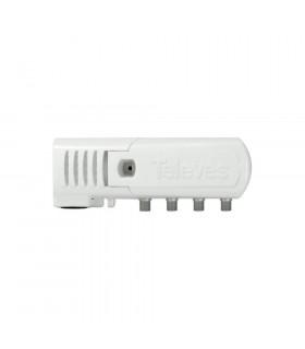 Amplificador vivienda televes 552220 1e/2s 20db