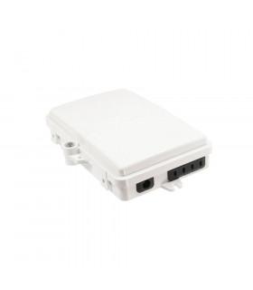 Caja distribución fibra opton 1 in 4 out casete