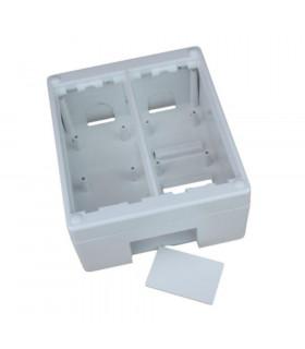 Caja de superficie 2 elementos 115x132mm