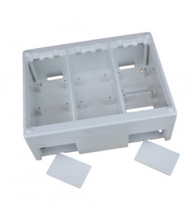 Caja de superficie 3 elementos 170x132mm