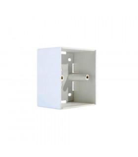 Caja de superficie universal 1 elemento 86x86mm