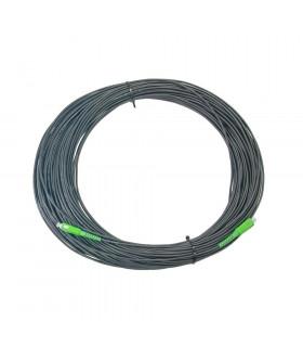 Cable 1f acometida op int/ext 20m sc/apc negro