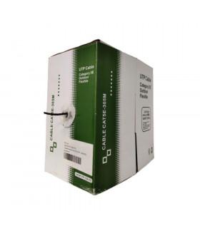 CABLE BITEL UTP CAT-5E EXTERIOR 100  CU NEGRO FLEX